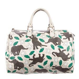 RARE Gucci Snowman in Africa Boston Joy Bag